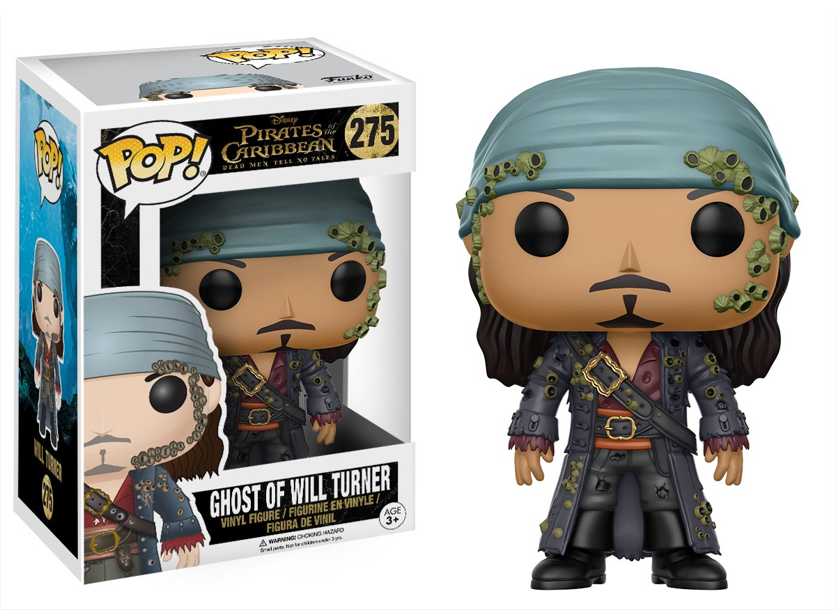Funko POP Disney Pirates of The Caribbean Ghost Will Turner Action Figure 12806 Accessory Toys /& Games