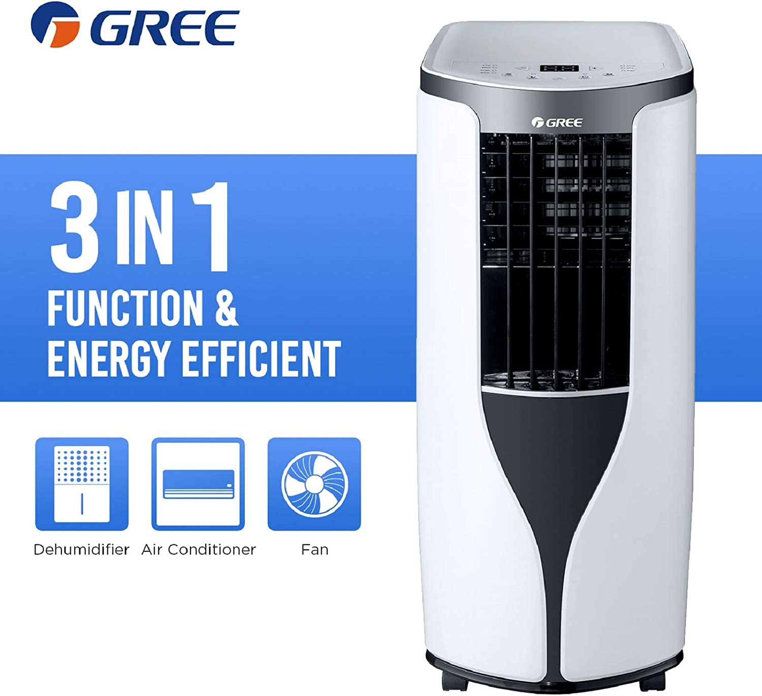 Air Conditioner with Dehumidifier Function
