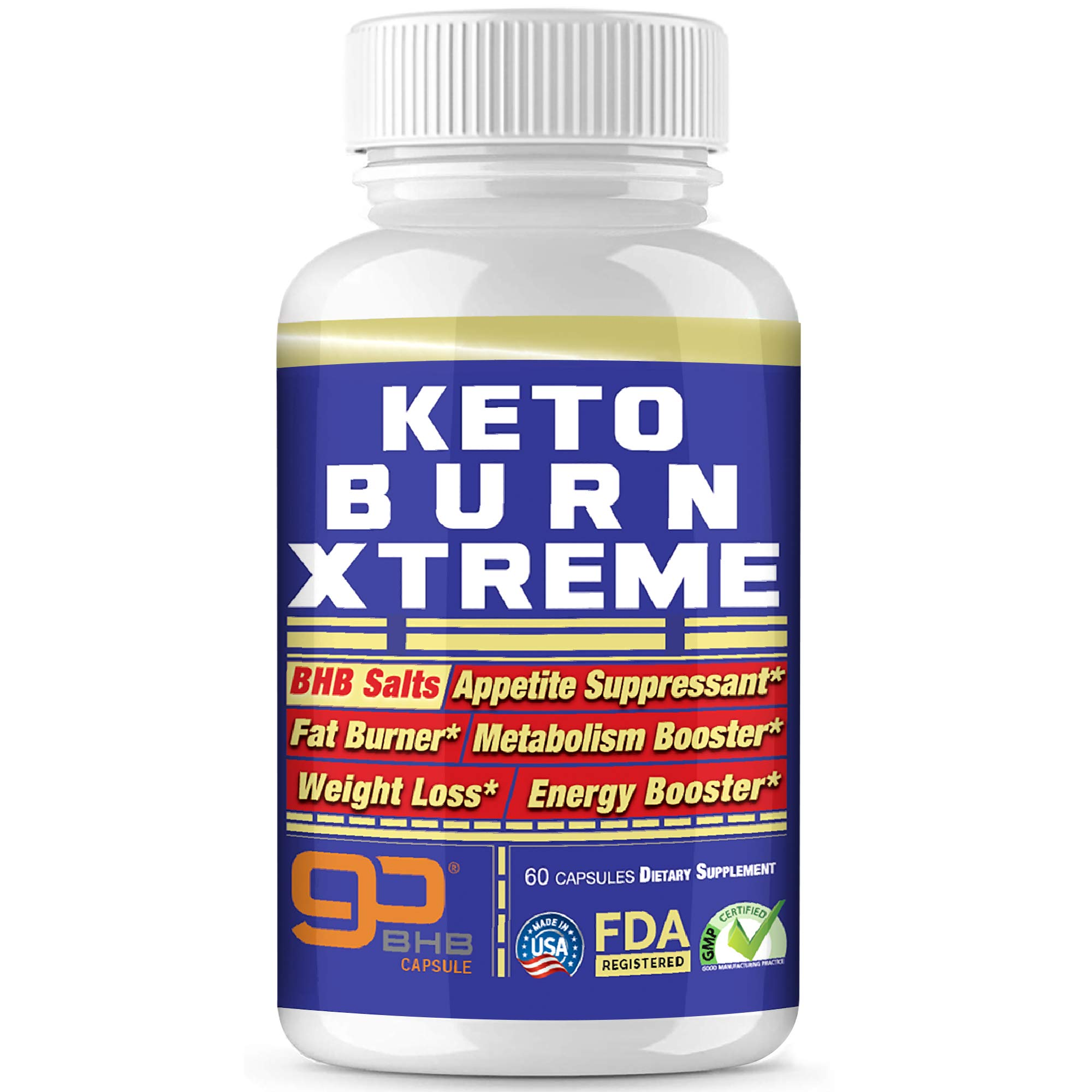 Keto Pills Advanced Xtreme Weight Loss 800 mg Pure BHB Salts Exogenous Ketones Fast Fat Burner Ketosis Boost Supplement Extreme Burn Appetite suppressant Women & Men Capsules + Free Keto Snacks ebook by Keto Wonders