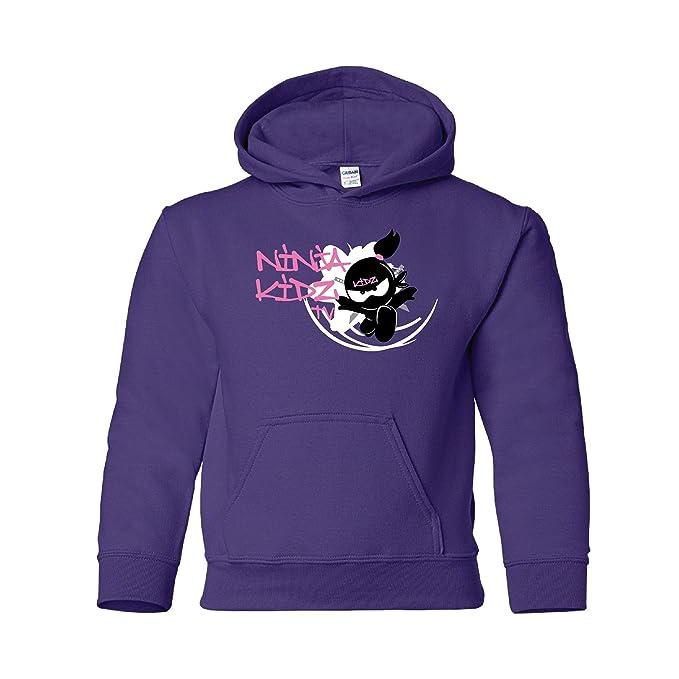 Amazon.com: Ninja Kidz¨- Ninja Kidz TV Flower Hoodie: Ninja ...