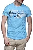 Pepe Jeans Golders - T-shirt - Uni - Manches courtes - Homme