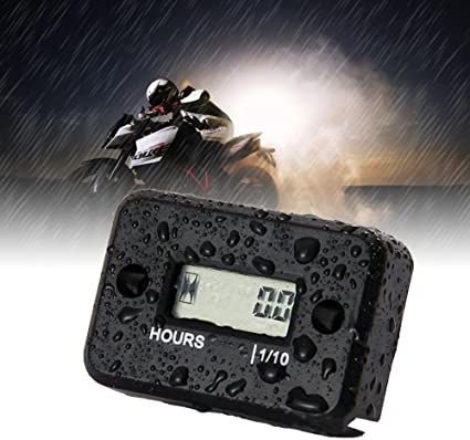 Jzk Waterproof Lcd Screen Operating Hour Meter For Motorcycle Atv Snowmobile Boat Auto