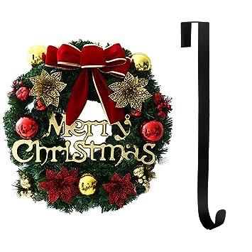 Weihnachtsdeko Für Die Tür.Cozywind Weihnachtskranz 30cm Druchmesser Tür Kranz Außen