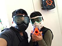 Fun mask for nerf battle