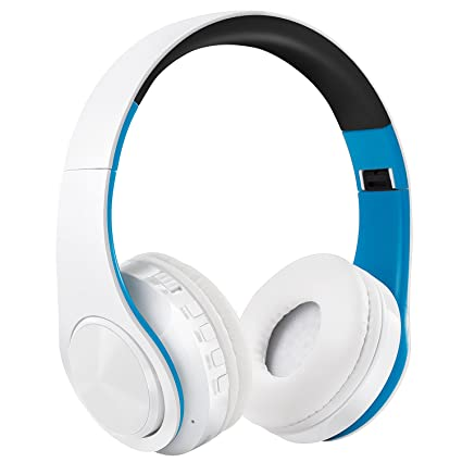 Auriculares Inalámbricos Bluetooth, WolinTek Wireless Over-Ear Headphone con Micrófono & 3,5mm