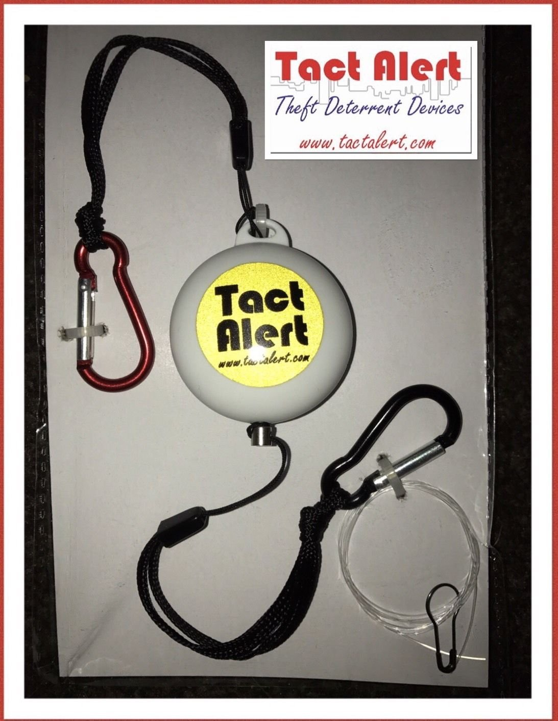 New Tact Alert Trip Wire Style Alarm System Shed Garage Monitoring Plus Burglar And Phone Line Wiring Door Mx Diy Tools