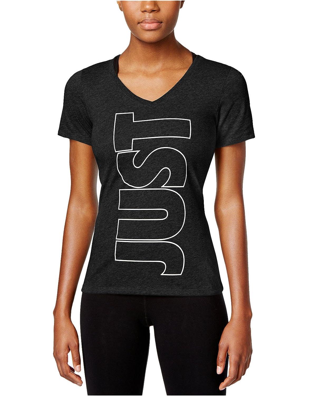 Nike Women's Dri-fit Just Do It V-Neck T-Shirt