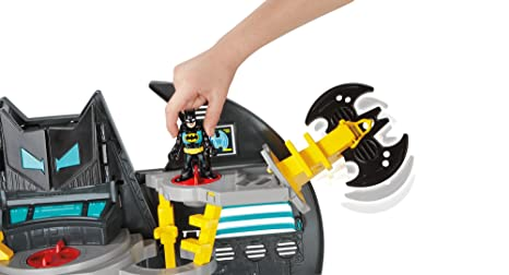 Amazon.com: Fisher-Price Imaginext Super Friends Batcave: Toys & Games