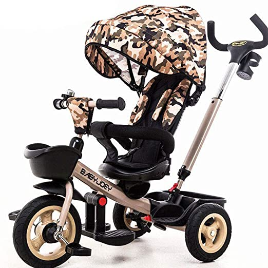 JYY Trike 4 en 1 Triciclo de bebé de 6 Meses a 5 años. Cochecito ...