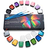 Professional Face Paint Kit for Kids – Non-Toxic & Hypoallergenic – Easy to Apply & Remove – Cosplay Makeup Kit – Body Paint Set