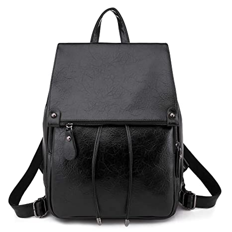 41aa928b3 EasyHui Women's Small Soft Leather Backpack Purse Fashion Girls Casual Shoulder  Bag