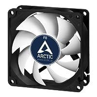 ARCTIC F8 - Ventola da 80mm ad alta potenza con case standard, a molteplice utilizzo, estremamente silenzioso ed efficiente