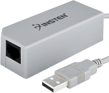 Insten para Nintendo interruptor del adaptador de red, USB 2.0 a ...