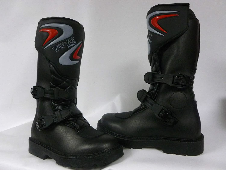 Kids Viper K156 Kids Motocross MX Boot Black 29//11