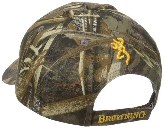 Amazon.com  Browning Rimfire 3D Buckmark Cap 3bfe384e2835
