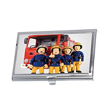 Fireman Sam Custom Business Card Holders Credit Id Card Wallet