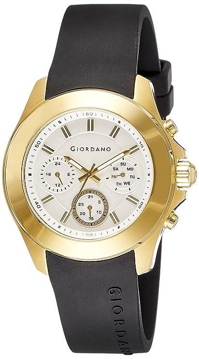 Giordano Analog White Dial Men's Watch-1760-03 Men at amazon