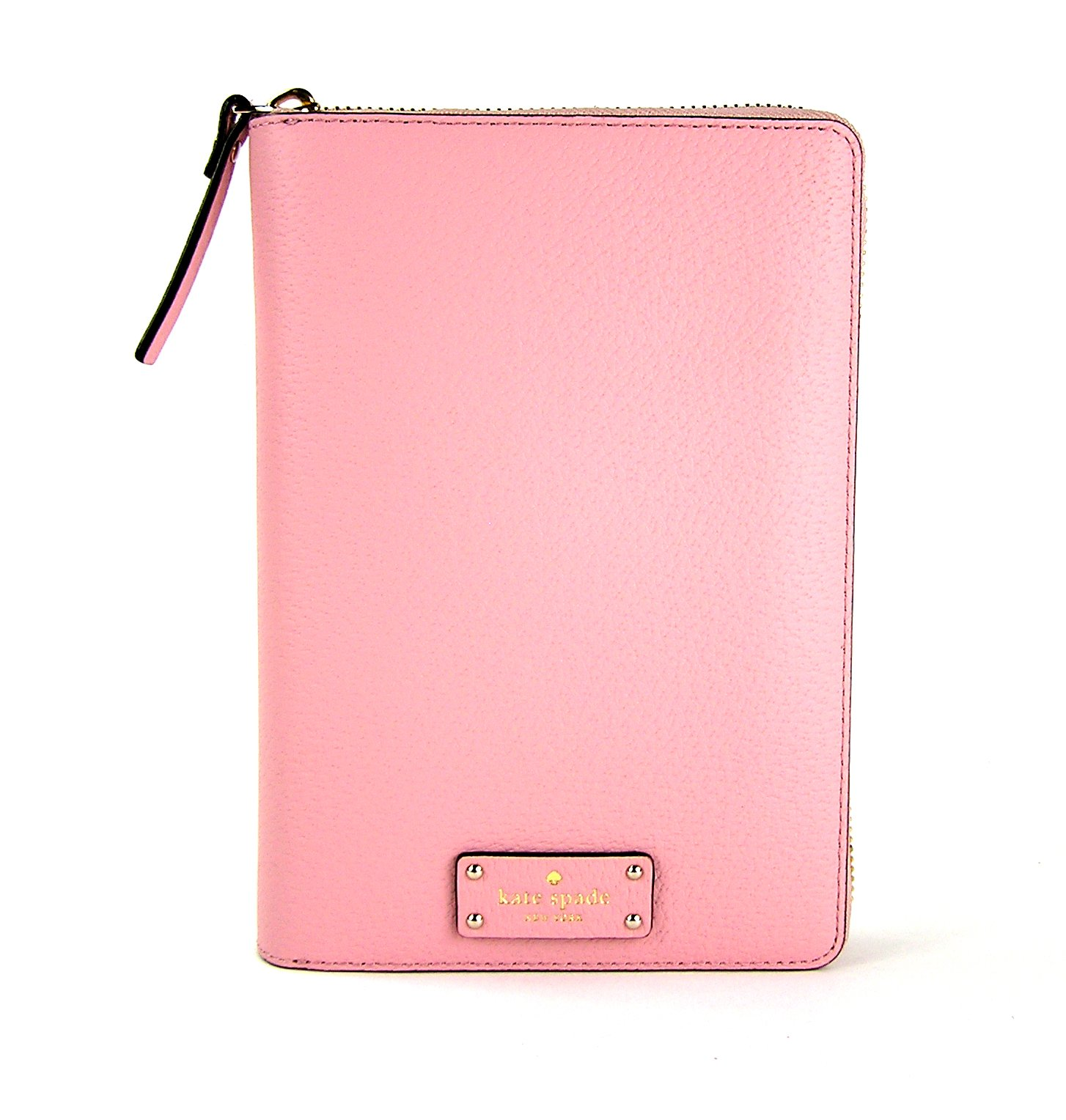 Kate Spade Zip Around Personal Organizer Grove Street Pink Bonnet