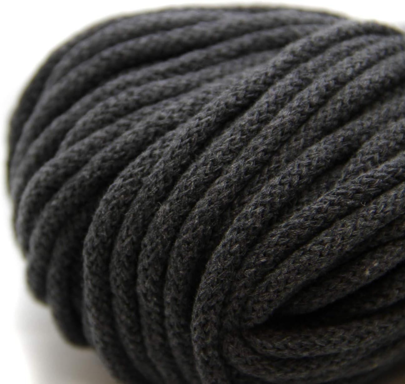 largo 6 mm Cordoncino di cotone con anima larga lungo 50 m NTS