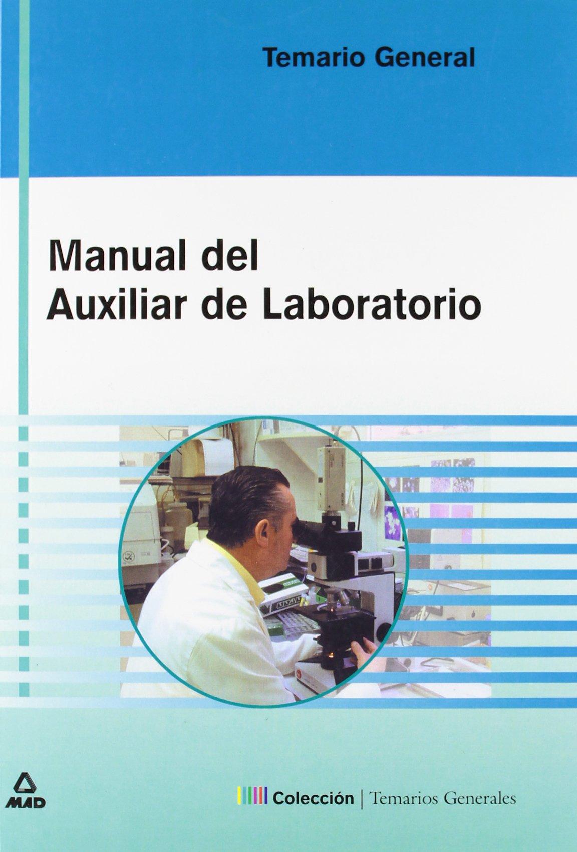 Download MANUAL DEL AUXILIAR DE LABORATORIO. TEMARIO (Spanish Edition) ebook