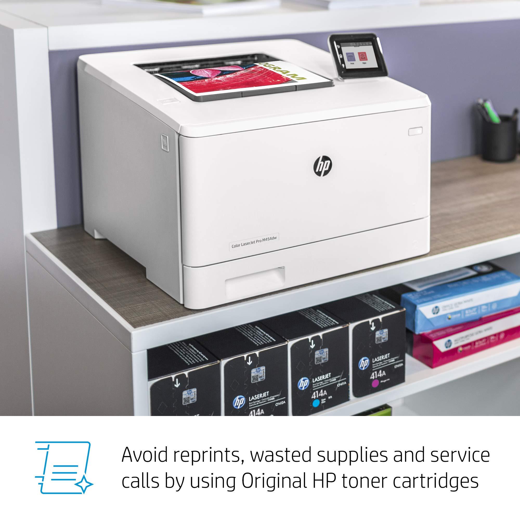 HP Color LaserJet Pro M454dw Printer (W1Y45A) by HP (Image #11)