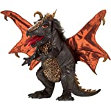 Folkmanis Dragon Hand Puppet Plush, Black