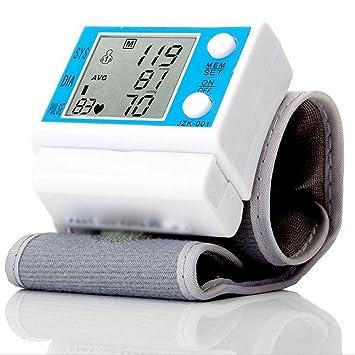 D&F TensióMetro De Brazo Monitor AutomáTico De MuñEca Inteligente Dispositivo De MedicióN De PresióN Arterial Digital