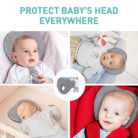 Amazon.com: Almohada de bebé para recién nacido (0 – 12 ...