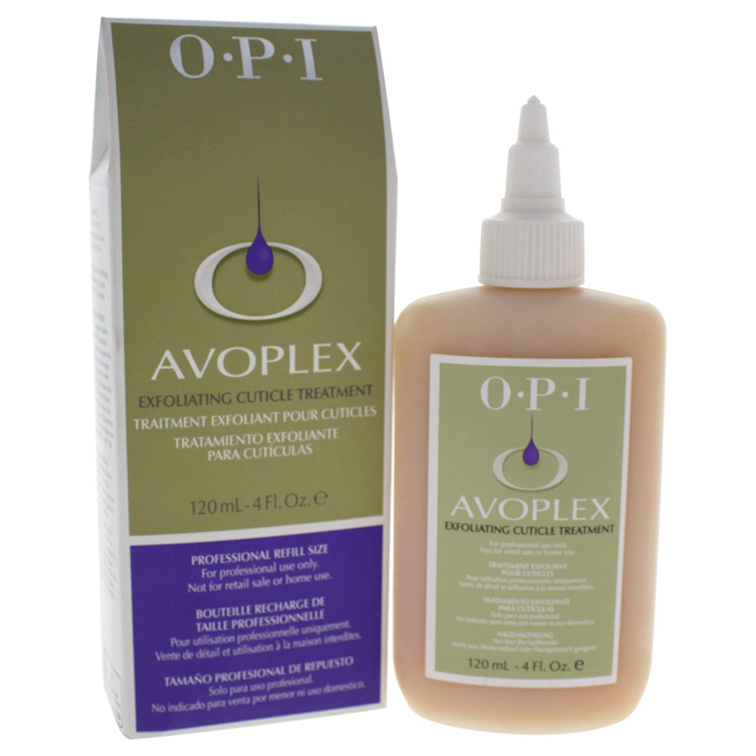 OPI Avoplex Exfoliante Para Cutículas - 120 ml.: Amazon.es