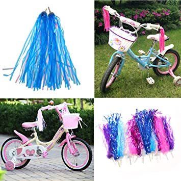 Dairyshop 2 Fahrrad Quasten Dreirad Kinder Jungen Mädchen Lenker