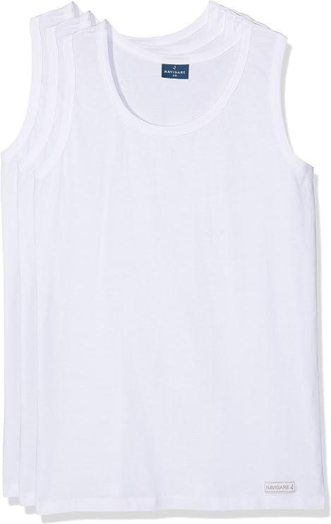 Navigare 511, Camiseta de Tirantes Para Hombre, Pack de 3: Amazon ...