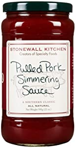 Stonewall Kitchen Simmering Sauce, Pulled Pork, 21 Ounce