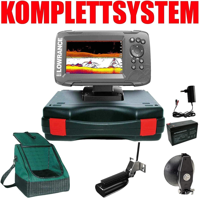 Lowrance Echolot GPS portátil Basic Plus – hook2 5 Split Shot HDI Chirp Combo GPS: Amazon.es: Deportes y aire libre