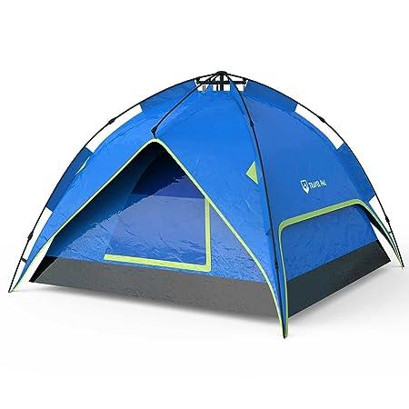 Travelpal Quinta 3 60 Sekunden Zelt Quick Tent Top Qualität 3 Personen Zelt 190T Polyester 3000mm Wassersäule Fiberglas