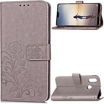 Carcasa para Funda Huawei P20 Lite Carcasa, Cartera Flip Funda ...