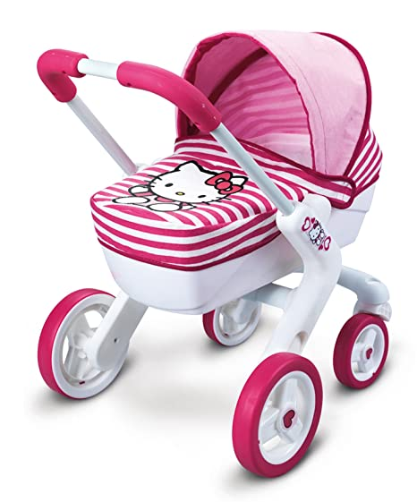 Hello Kitty - Pop Pram, cochecito de juguete (Smoby 511331)