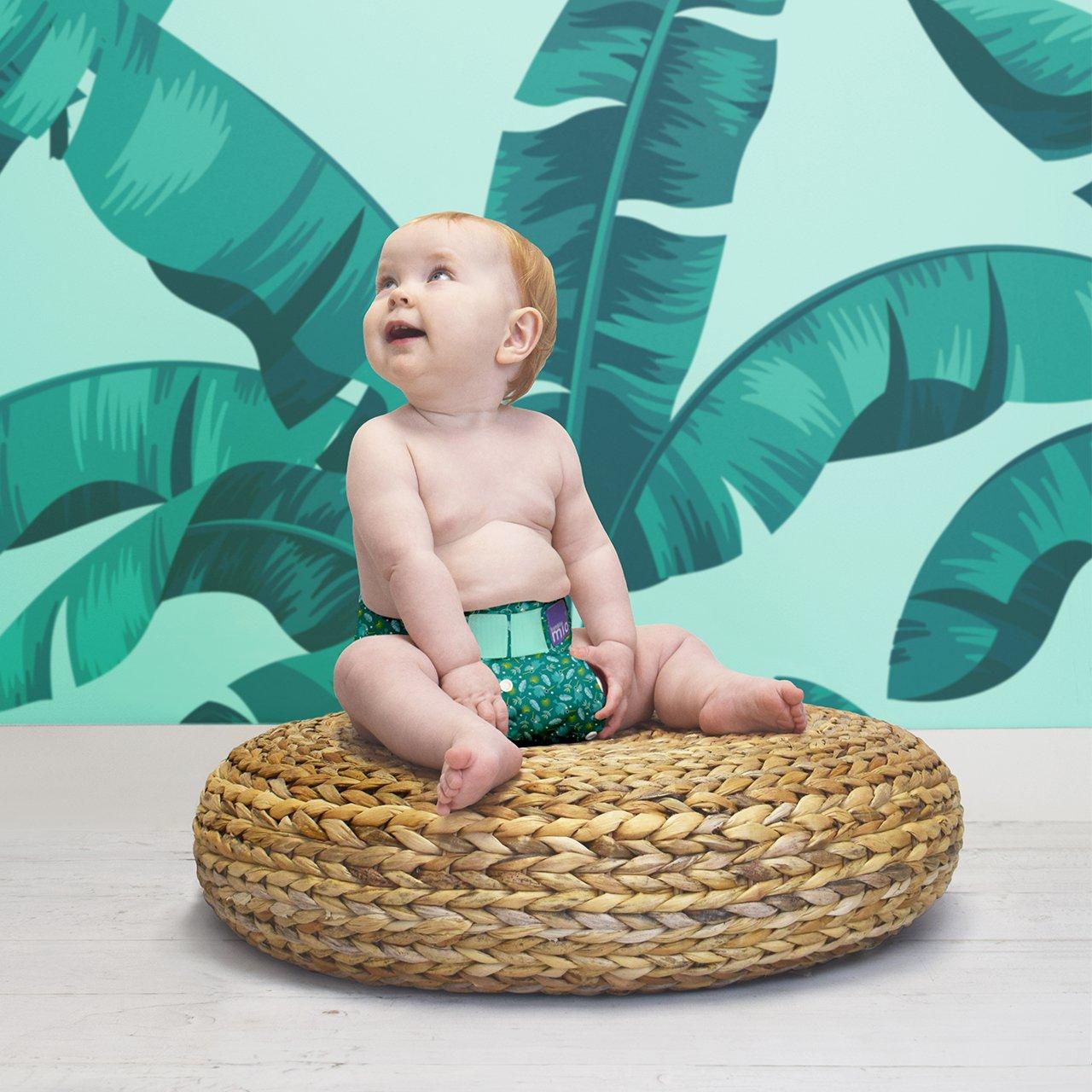 Bambino Mio Miosolo Cloth Diaper Set, Rainforest by Bambino Mio (Image #2)