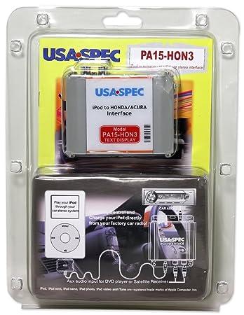 Amazoncom Usa Spec Pahon Honda Acura Ipod And - 2004 acura tsx aux input