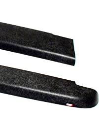 Amazon truck bed rails trim automotive wade 72 40181 truck bed rail caps black smooth finish without stake holes for 2004 sciox Gallery