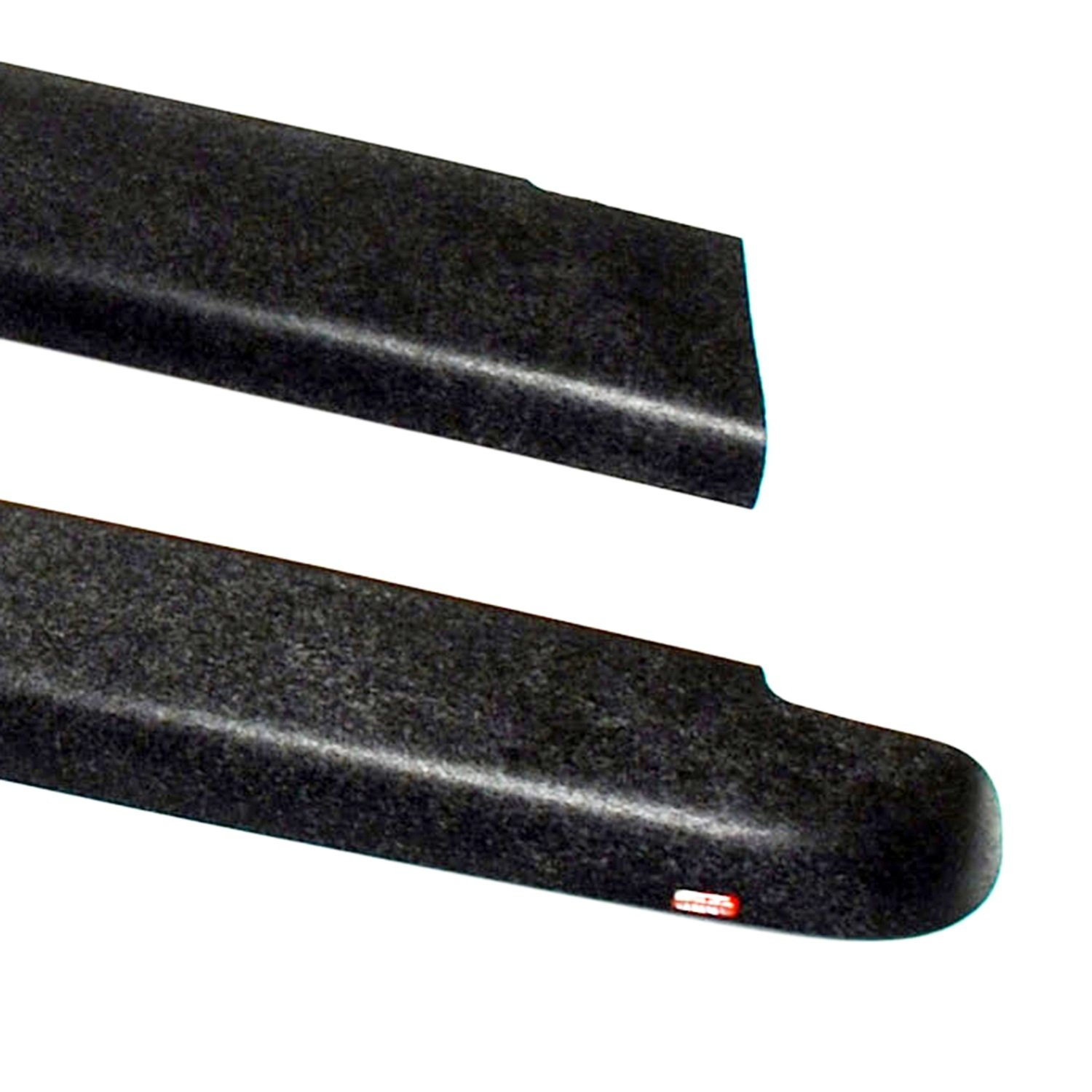 Wade 72-40104 Truck Bed Rail Caps Black Smooth Finish without Stake Holes for 2007-2014 Chevrolet Silverado 1500 2500 with 6.5ft bed (Set of 2) Westin