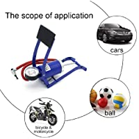 Density Collection Foot Pump New Imported Air Foot Pump For Car, Bike Bicycle