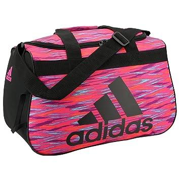 Adidas Diablo Duffel Bag, One Size, Shock Pink Twister/Black/Shock Pink