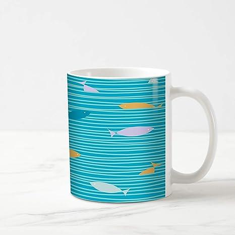 Amazon.com: Taza de té de café Ahawoso de 325 ml, diseño ...