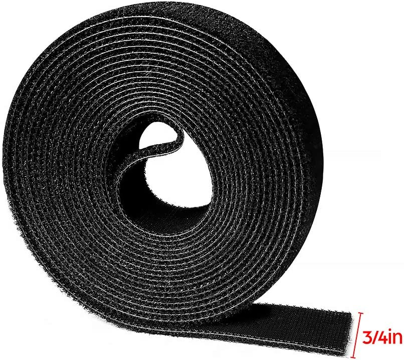 """10pack 6/"""" Hook and Loop Self-Attaching Reusable Cable Tie Fastening Tape"""