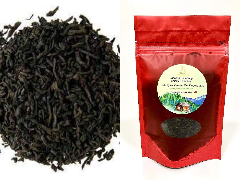 Lapsang Souchong Smoky Tea 100 gram - Loose Leaf Black Tea - from its original birth place FuJian Province of China