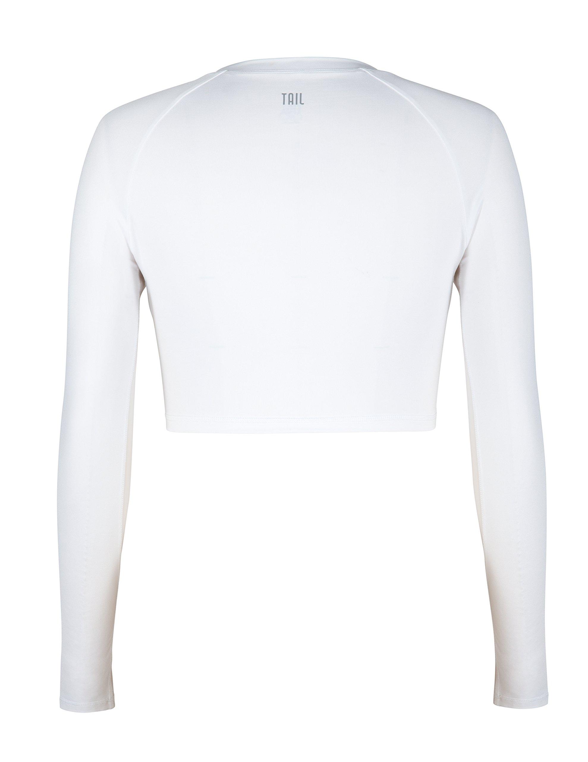 Tail Activewear Women's Sasha Crop Top Large White by Tail (Image #4)