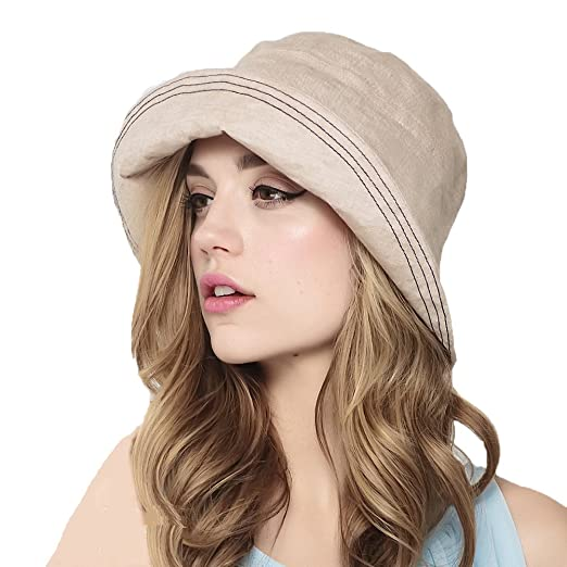 Maitose Trade  Womens Summer Foldable Sun Protection Gardening Sun Hat Beige 6ce78655c3af