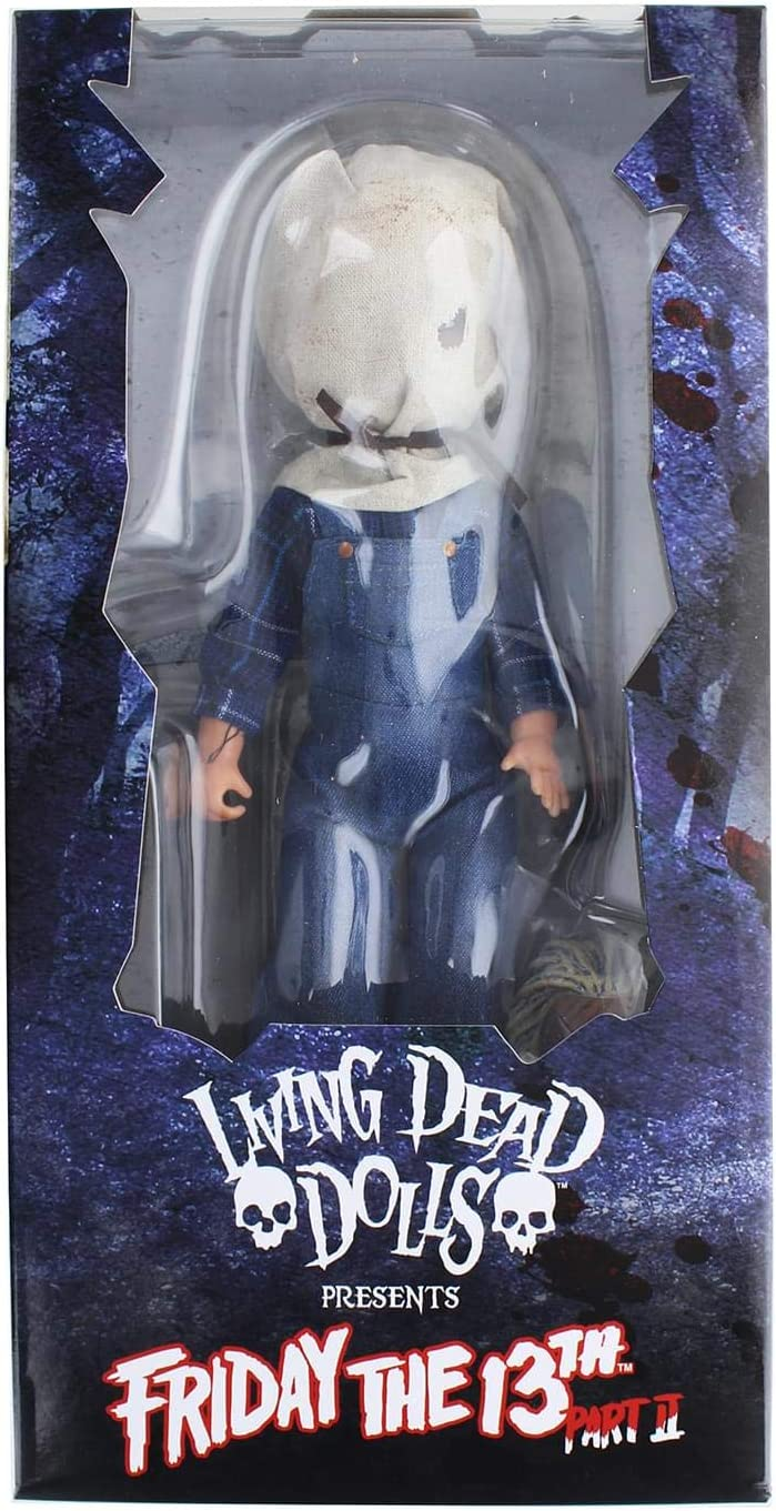 Living Dead Dolls Friday The 13th Part II Jason Voorhees Deluxe Doll* BRAND NEW*