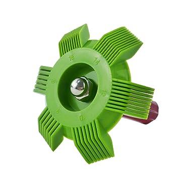 wisepick AC condensador Fin Radiador Aleta del evaporador limpiador de cabello peine