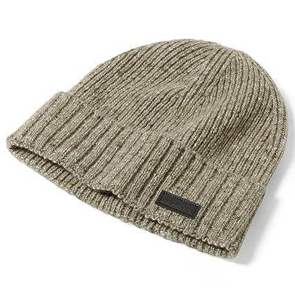 411033b9a2 Amazon.com  Oakley Mens Halifax Cuff Beanie Hat One Size New Khaki ...
